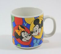 Disney Mickey Mouse Coffee Cup Mug Minnie Mouse Goofy Pluto Daffy Duck Korea