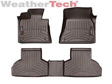WeatherTech Custom Car Floor Mat FloorLiner for BMW X5/X6 - 1st/2nd Row - Cocoa