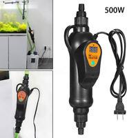 500W Aquarium Chauffage Externe Fish Tank Eau Température Réglable Thermostat