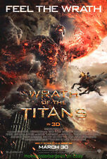 WRATH OF THE TITANS MOVIE POSTER Original DS Final Style  27x40 SAM WORTHINGTON