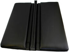 Jewellery Ring Leatherette Display Tray Black 280 x 155 x 35mm Two Pads