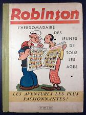 Robinson Reliure éditeur 189 à 201 de 1939/40 TBE