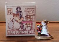 WEE FOREST FOLK mouse NUTCRACKER 1991 Donna Petersen M-174 RETIRED w/ BOX