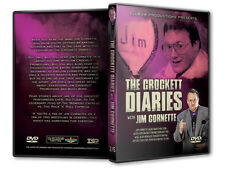 The Crockett Diaries - Jim Cornette DVD, NWA WCW Wrestling WWE WWF Starrcade ROH