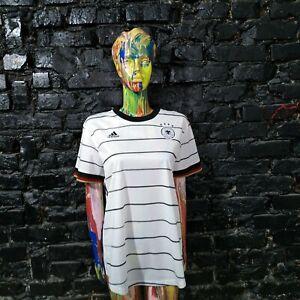 Germany Team Jersey Home football shirt 2019 - 2021 Adidas EH6102 Woman Size XL