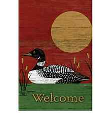 Lang Co. - Loon Life - Welcome mini garden flag - #092