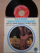 COROS PARROQUIA UNIVERSITARIA D SAN BENITO (Salamanca) DOBLE EP 1970 Xian Choir