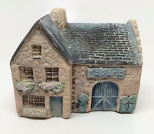 Vintage Uk Philip Laureston Miniature Garage House #724 - Ceramic - Euc