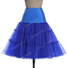 1950s Petticoat Black White Retro Vintage Swing Skirt Dress Plus Size