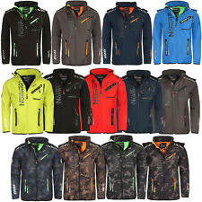 Geographical Norway Herren Softshell Outdoor Regen Sport Wander Funktions Jacke