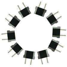 Hot Hoch Qualität 10 X US to EU AC Leistung Stecker Reise Konverter Adapter