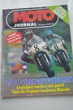 MOTO JOURNAL 366 HONDA XLS 250 BPS Enduro RS GS ; Formule 750 à Zeltweg 1978