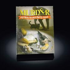 Asesinato misterioso la Brie, la bala y el Gato Negro Cena Fiesta Juego