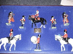 W Britains Royal Scots Dragoon Guard Limited Edition Soldiers 1/3 G Scale