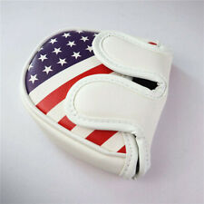 Usa Patriotism Center Shafted Mallet Putter Cover Headcover fit Odyssey 2 Ball