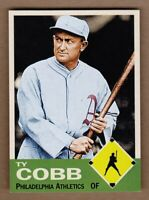 Ty Cobb '28 Philadelphia Athletics Monarch Corona Diamond Collection #4