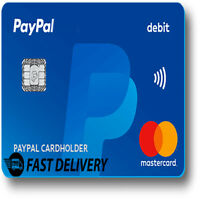 VCC Virtual Credit Card For Paypal and Ebay Verification with balance 2$