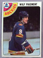 1978-79 TOPPS WILF PAIEMENT COLORADO ROCKIES #145 Hockey CarD LOT OF 2 NM-MT