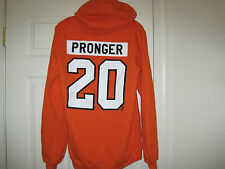 NHL #20 Blank Philadelphia Flyers Colors Hockey Sweatshirt MEDIUM