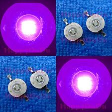 3W 45mil UV 395nm-400nm Purple Ultra Violet High Power LED Lamp Beads Light Bulb