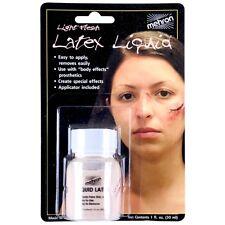 Liquid Latex Mehron Special Effects Prosthetics Halloween Horror Flesh Make up