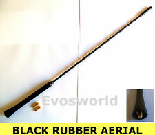 KIA RIO MK2 BLACK RUBBER GENUINE REPLACEMENT AM/FM AERIAL ANTENNA ROOF MAST