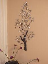 Wanddeko aus Metall Baum Wandbild Metallbild Deko Bild Wandhänger 118 cm