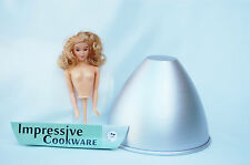 Dolly Varden Princess Mould 2 Lt Cake Tin Doll Kit Blonde Impressive Cookware
