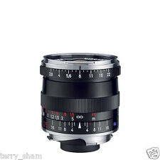 New Carl Zeiss Biogon T* 25mm F2.8 ZM Wide Angle Lens Black Leica M M9 M8.2