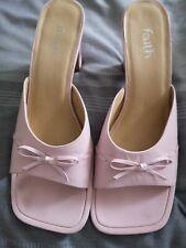 Rosa muy bonita Fe zapatos talla 8/41