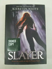Slayer (Buffy The Vampire Slayer) by Kiersten White Signed Hardcover Rare