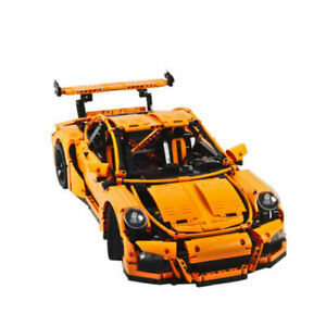 PORSCHE GT 3RSR Car Compatible With Lego Technic 42056 New Toy Set