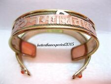 Best Quality Om Namah Shivaya Shiv chant peace mantra brass copper BRACELET KADA