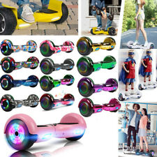 """6.5"""" Bluetooth Electric Hooverboard Balancing LED Scooter 2-Wheel Scooters"""