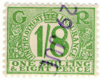 (I.B) George V Revenue : Unemployment Insurance 1/8d