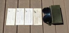WW2 ERA U.S. ARMY Military M-1944 GOGGLE SET W/ Box + Lenses