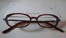 Vera Wang Luxe Wafer Glance Bordeaux 49/16 Eyeglass Frame New