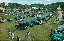 c1960 Antique Automobile Festival, Boothbay, Maine Postcard