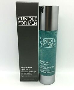 Clinique For Men Maximum Hydrator Activated Water Gel Concentrate ~ 3.2 oz BNIB