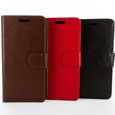For Kyocera Hydro Air / Hydro Wave Leather Case - Flip Folio Wallet Pouch