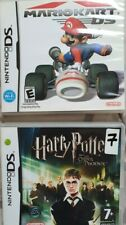 MarioKart DS and Harry Potter and the Order of the Phoenix Nintendo games kart