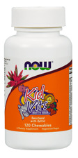 NOW FOODS Kid Vits Berry Blast (Multivitamin for Kids) 120 Chewables