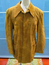 Vintage Ericson of Sweden Suede Button Front Jacket Size 42