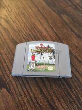 Waialae Country Club Golf Nintendo 64 N64 Game Cart Good Works NE5
