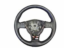 *SEAT ALTEA, LEON -  3 SPOKE MULTIFUNCTION LEATHER STEERING WHEEL -  5P0419091AD