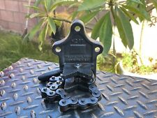 """Vintage THE ERIE TOOL CO. No.11 Chain Vise 1/8"""" to 2"""" Pipe Capaciy ERIE,PA. USA"""