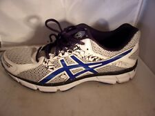 ASICS GEL-EXCITE 3 Mens Silver/Black/Blue Running Shoe T5B4N Size 9 1/2US 43.5EU