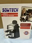 SOWTECH CM6811 COFFEE Espresso Maker 3.5 Bar 4 Cup Cappuccino w/ Milk Frother photo