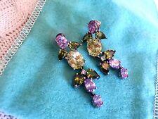 CAPTIVATING Costume Jewelry Semi Precious Stones Earrings