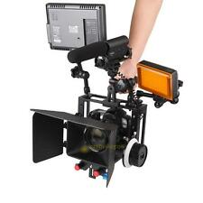 Aluminum Alloy Protective DSLR Camera Cage Stabilizer Metal Top Handle Set Pro